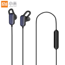 Xiaomi Original Mi Sports Bluetooth Headset Youth Edition 4.1 Music Earbuds Mic IPX4 Wireless Earphones for Mi 6 7 8 Redmi 6 7 original xiaomi mi wireless headphones bluetooth headset apt x music player support volume control