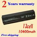 Jigu 12 células de bateria para hp compaq cq42 mu06 mu09 CQ32 G62 G72 G42 G72 G4 G6 G7 593553-001 DM4 bateria