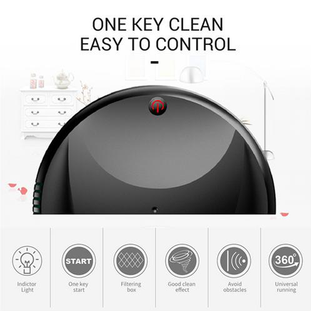 Automatic Rechargeable Strong Suction Sweeping Smart Clean Robot 9