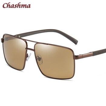 Мужские солнцезащитные очки Gafas с широким рецептом, поляризационные, защита от ультрафиолета, линзы, близорукость, классический дизайн, сол...