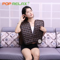 POP RELAX tourmaline cervical belt shoulder back neck pain relief infrared thermal heating therapy ion germanium stone waistcoat