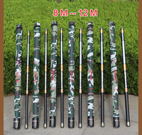 MIG Guangwei Power Hand Rod 8 9 10 11 12 13 Meters Hard Carbon Long Pole Fishing Rod