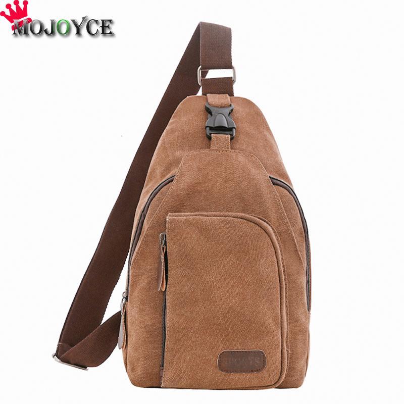 Canvas Shoulder Bags Chest Bag Messenger Shoulder Bag Small Crossbody Shoulder Bag