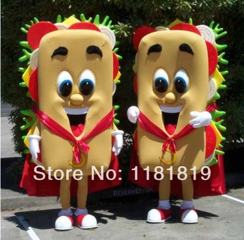 MASCOT sandwich mascotte kostuum custom fancy kostuum anime cosplay - Carnavalskostuums