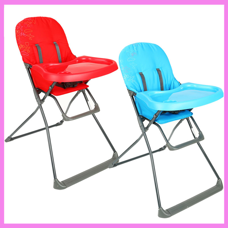 Lightweight Portable Folding Multifunctional Dining Seat Highchairs Baby Toddler Dinner Eating Chair with Table Plate on eating