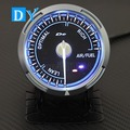 High Quality 2.5 INCH 60MM DY Advance Universal Air/Fuel Gauge with Blue colors Light racing car air fuel Ratio Meter
