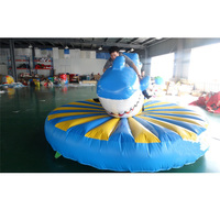 Inflatable new game inflatable shark toy inflatable trampoline