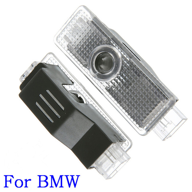 For BMW 12V 5W 2PCS Car Door Led Welcome Laser Projector Logo Ghost Shadow Light welcome light For BMW e90,e46,f11,e61,e60,f31