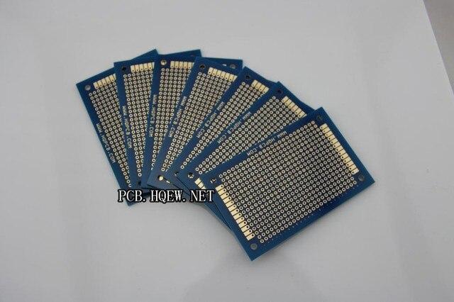 5x8 cm Copper pcb Universal Board,Prototyping PCB Printed Circuit Board Breadboard Stripboard