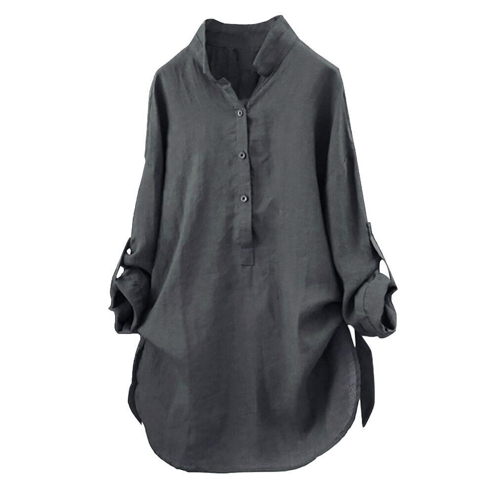 Blouses Women 2019 Women Tops Long Sleeve Shirt Plus Size Women Blouses Long Shirt Ladies Summer Tops Blusas Mujer De Moda 2019