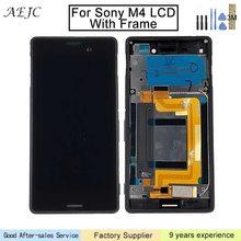 Для sony Xperia M4 Aqua ЖК-дисплей Дисплей Сенсорный экран планшета в сборе с рамкой для sony M4 Aqua E2303 E2306 E2353 E2333 ЖК-дисплей 5″