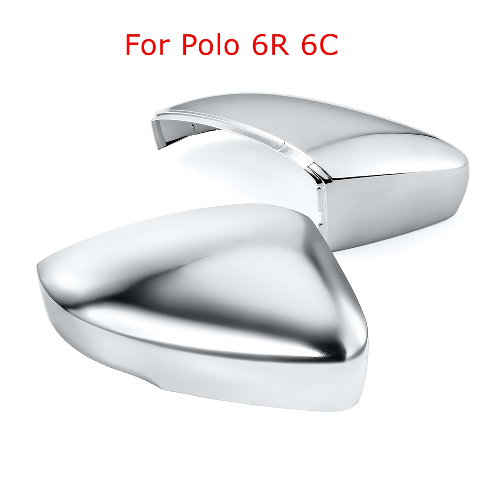 For VW Golf MK7 7.5 GTI JETTA MK6 6 7 R Passat B7 Chrome Side Wing Mirror Covers Satin caps for polo 6R 6C Golf GTI 7For VW Golf MK7 7.5 GTI JETTA MK6 6 7 R Passat B7 Chrome Side Wing Mirror Covers Satin caps for polo 6R 6C Golf GTI 7