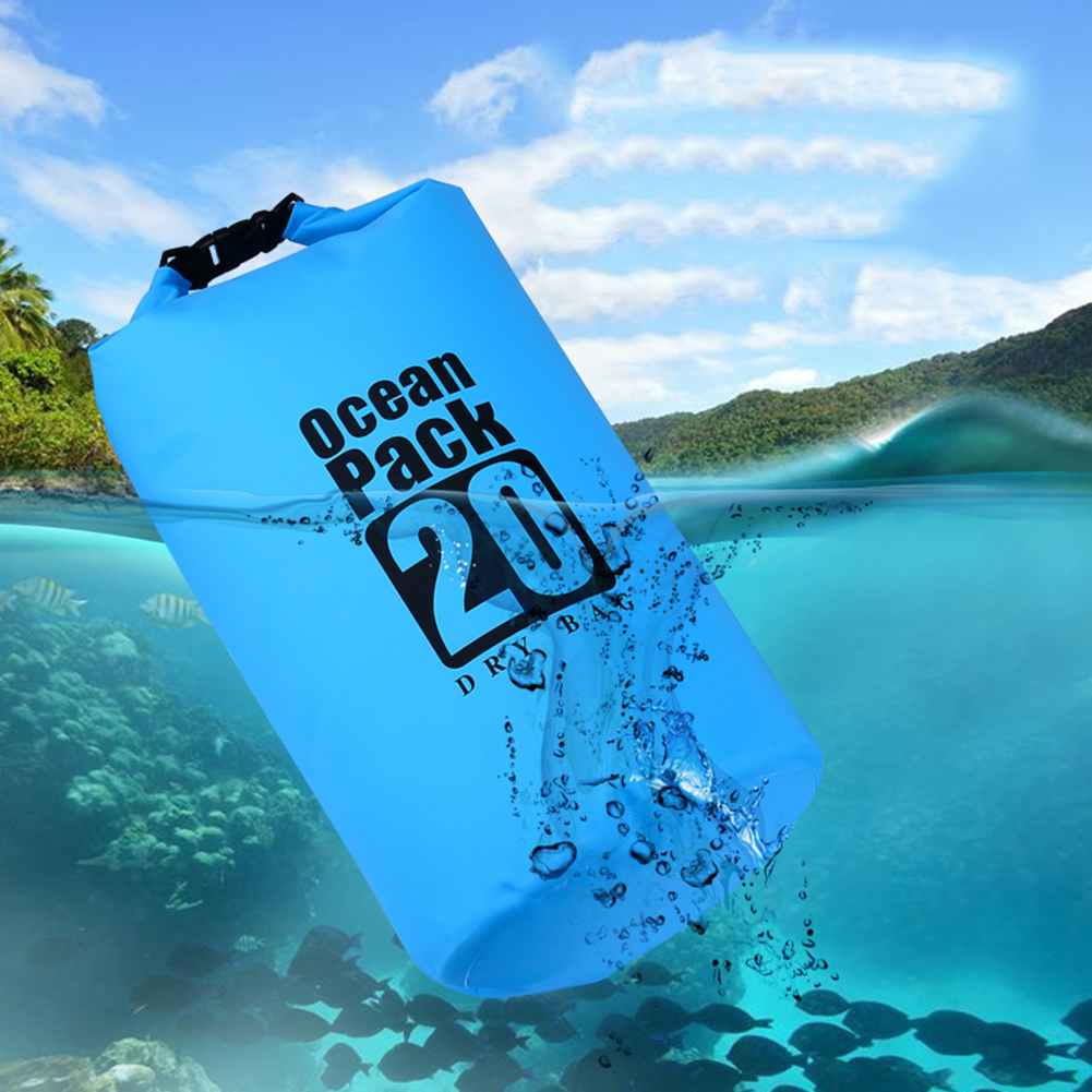 Waterproof Dry Bag for Camping Boating Canoe Kayaking Rafting Storage Sack Pouch