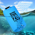 5L/10L/20L Waterproof Dry Bag Sack Pouch Boating Kayaking Camping Rafting Hiking Swimming Tourism Storage Bag Foldable Backpack