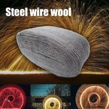 Портативный стальной проволоки шерсти класса 0000 3,3 м для полировки очистки удаления не осыпается