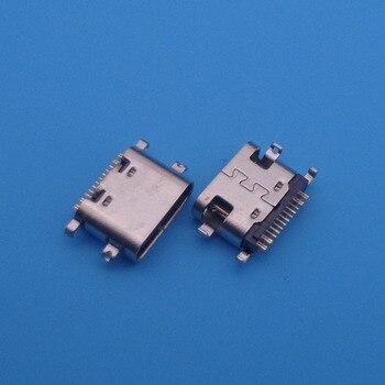 20pcs For BLUBOO S1 micro mini usb jack 16-pin type-C connector socket charging port replacement repair parts dock plug 16pin