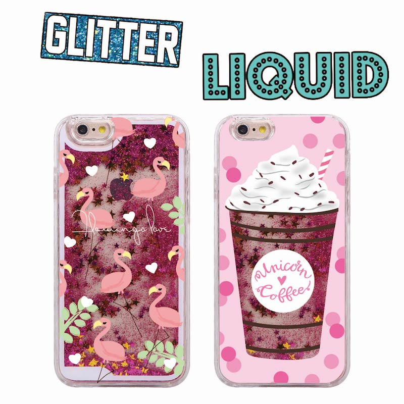 Iphone 7 Unicorn Liquid Glitter Case