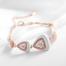Silver/Rose Gold/Gun Color Vintage Bracelet for Women