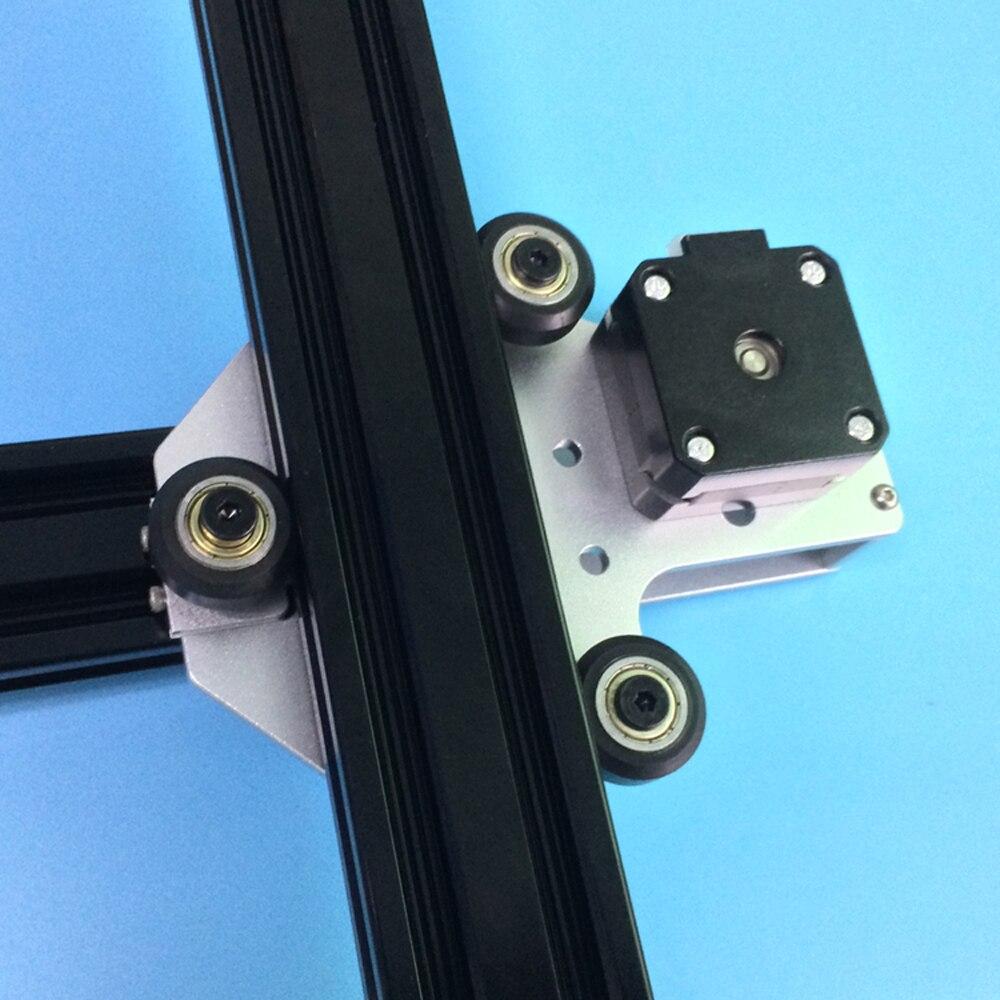 1 set 3D imprimante mise à niveau en aluminium X axe moteur montage sur 2040 v-fente En Aluminium extrusions profils pour Tronxy 3D imprimante - 3