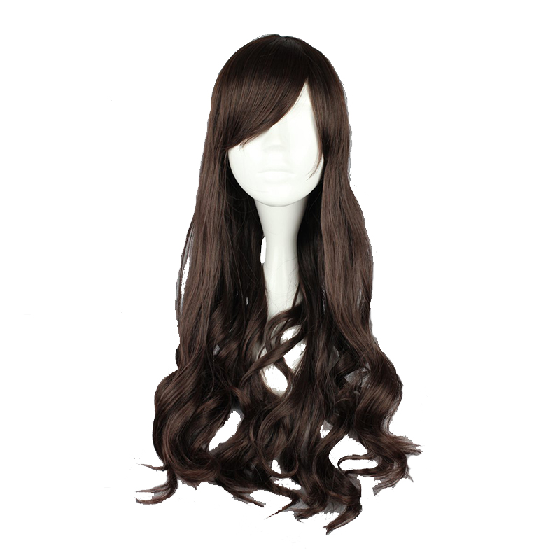 MCOSER 60cm Synthetic Long Wavy Hair Women Cosplay Full Wigs 100% High Temperature Fiber WIG-471A