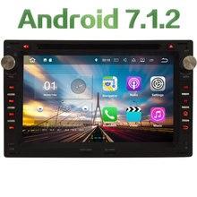 "2GB RAM 7"" Quad Core Android 7.1 Car DVD Player Audio Stereo Radio GPS for Passat B5 Golf 4 Polo Bora Jetta Sharan T5 1999-2005"