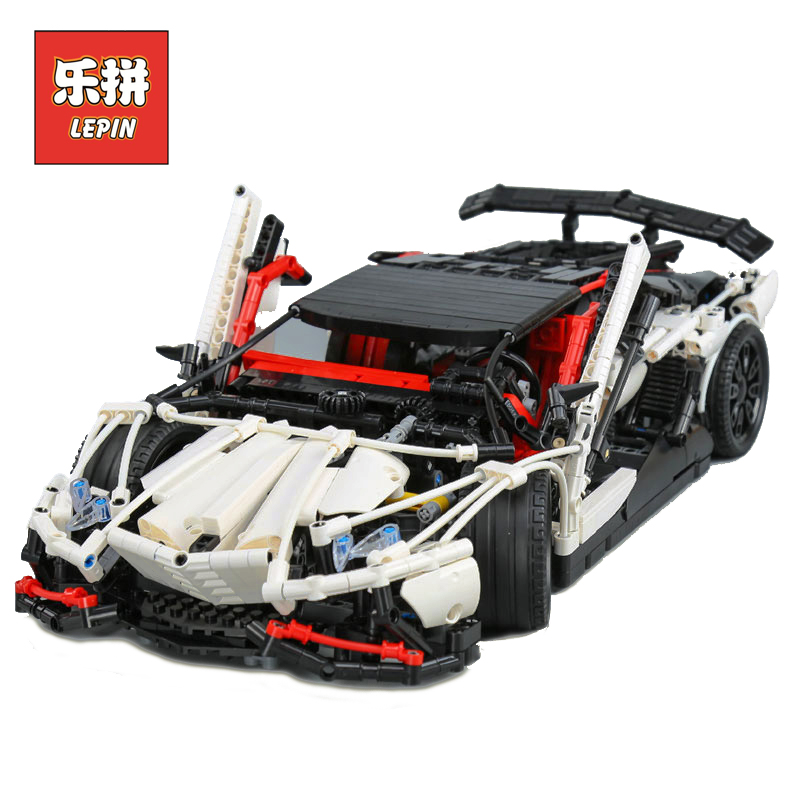 Lepin 23006 Technic Series MOC the Super Racing Car Set MOC-3918 Model Building Blocks Bricks Educational Toys Christmas Gift lepin 21010 technic super racing car series the red truck set children educational toys building blocks bricks compatible 75913