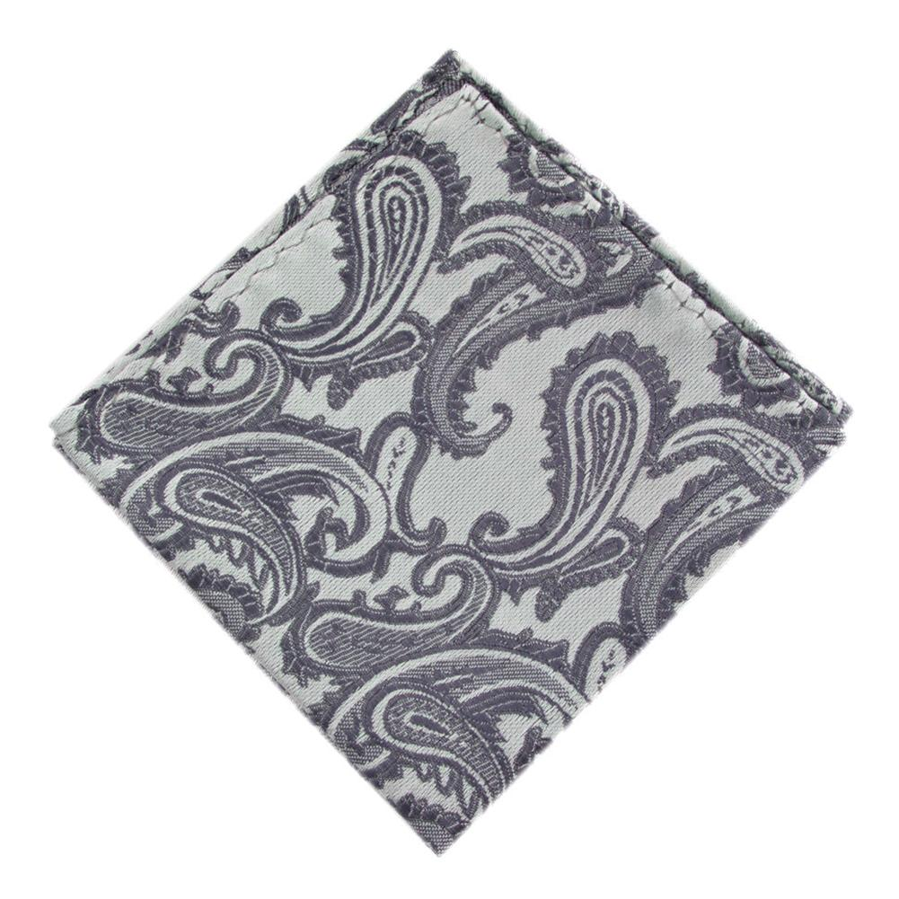 Men Jacquard Weave Pocket Square Towel Handkerchief Wedding Party Hanky Gift