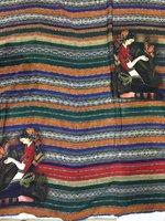 Tulle de soie imprimée tissu d'été fruits tissu imprime robe soie mousseline de soie tissu en gros tissu de soie tissu minky matériel LX0583