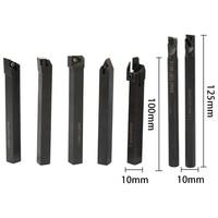 כלי קרביד מחרטה מחרטת 10mm מפנה מחזיק והתוספות כלי קרביד מוצקה Boring בר עם מפתחות עבור מחרטה פנו כלי קאטר המחרטה (2)