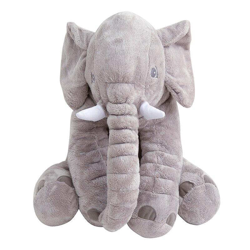 40-60CM Bayi Lembut Bayi Haiwan Bantal Gajah Kanak-kanak Tidur Bantal - Peralatan tempat tidur