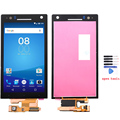100% New Black lcd For Sony Xperia S LT26i LCD display Touch Screen with Digitizer Assembly + Tools , Free shipping !!!