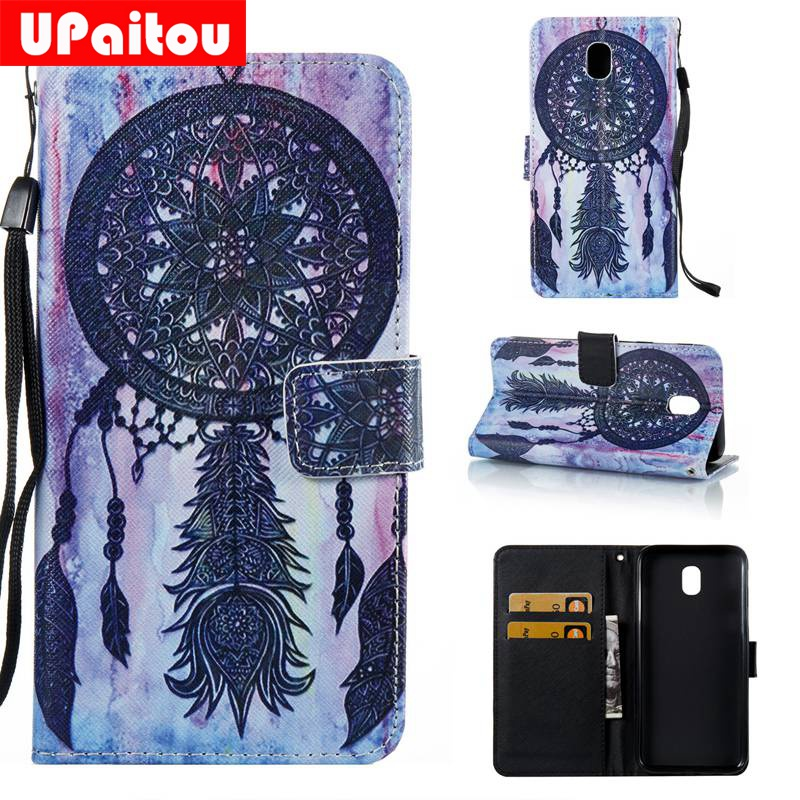 e39c7c202b9 UPaitou For Samsung Galaxy J5 2017 Case Wallet Flip PU Leather Phone Cases  For Samsung Galaxy J5 Pro Case J5 2017 J530 Cover