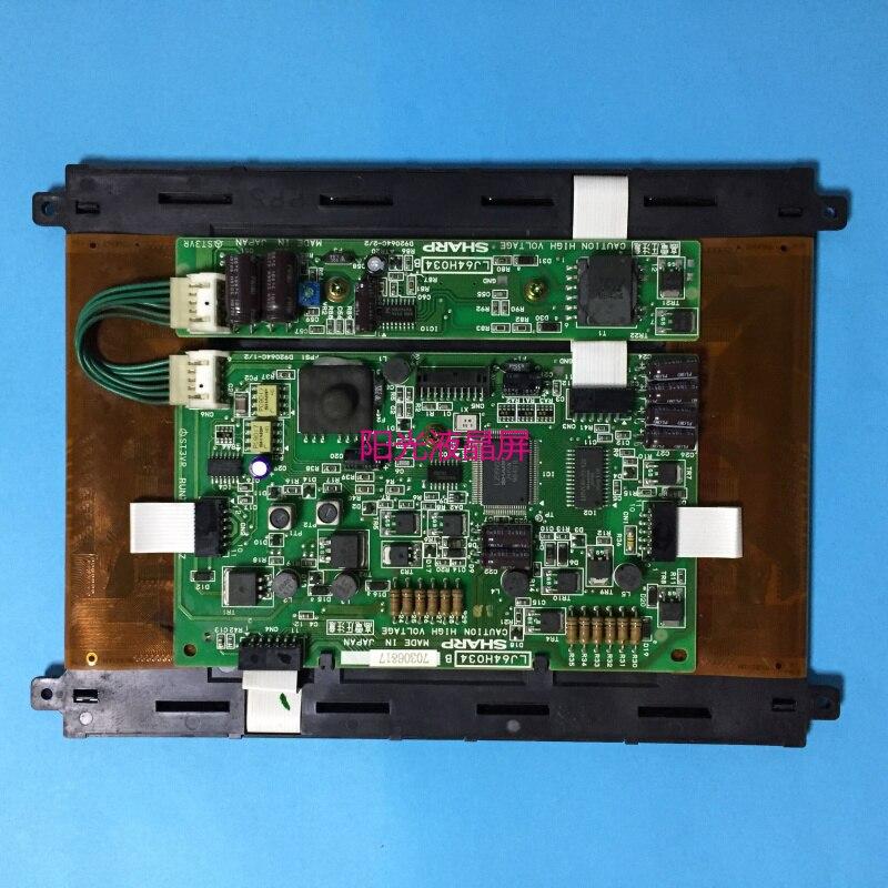 LJ64H034   8.9 INCH INDUSTRIAL LCD EL Self-luminous DISPLAY SCREEN  A+  MADE IN JAPAN