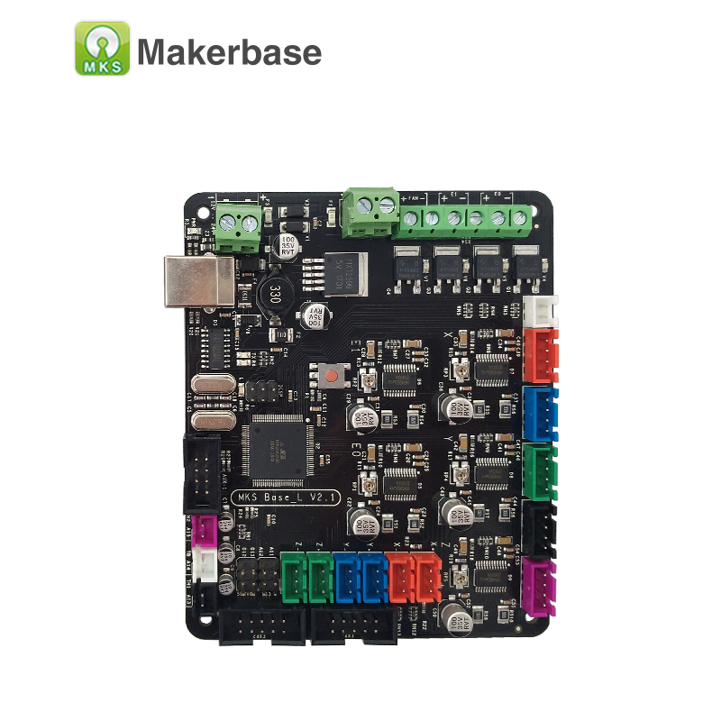 3D components integrated motherboard MKS BASE L V2 1 compatible Mega2560 RAMPS1 4 control board RepRap