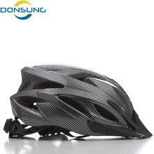 DONSUNG Mens Bicycle Cycling Helmet Cover Cascos Ciclismo MTB Capaceta Bicicleta Road Bike Helmet Integrall Casco Cycling Helmet