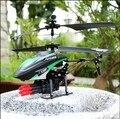 Frete Grátis WLtoys WL 757 drone controle de rádio 3.5CH Blowing bubbles RC Metal Helicóptero brinquedos de controle remoto melhor presente de aniversário