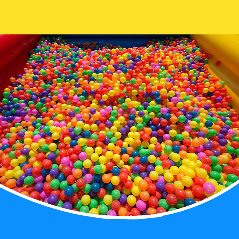 New 1pcs/50 Pcs Kids Toy Balls Funny Colorful Soft Plastic Ocean Ball Eco Friendly Water Pool Wave Ball Pit Toys Piscine A Balle