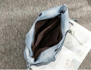 Image 5 - Rdywbu ผู้หญิงกระเป๋าสะพาย DENIM ใหม่แฟชั่นกางเกงยีนส์คุณภาพสูง Crossbody กระเป๋าขนาดใหญ่ Tote กระเป๋าถือ Mochila Bolsa B725