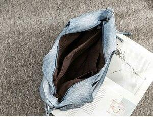 Image 5 - Rdywbu 女性がショルダーバッグ新ファッションジーンズ高品質移動クロスボディバッグラ Mochila ボルサ B725