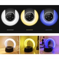 Wireless Bluetooth Speaker Waterproof Led FM Radio Subwoofer Bluetooth Column TF Card Suction Cup Mini Shower Speaker Z529