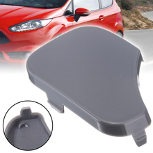 1pcs Black Front Bumper Towing Eye Cover Cap For FORD FIESTA MK6 1375861 6S6117A989A