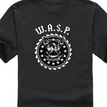 Design Shirts MenS Short Crew Neck  Basic Vintage W.A.S.P. 33 Years Heavy Twisted Sister Short-Sleeve T Unisex Fashion