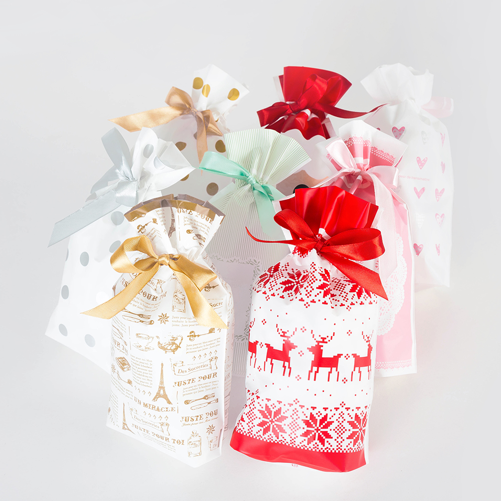 Wedding Favors Bags Drawstring Bag Spring Festival New Year Candy