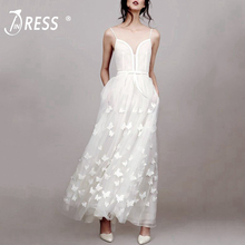 INDRESSME 2019 New Hot Sexy Women Strap Floral Lace Gown Bri