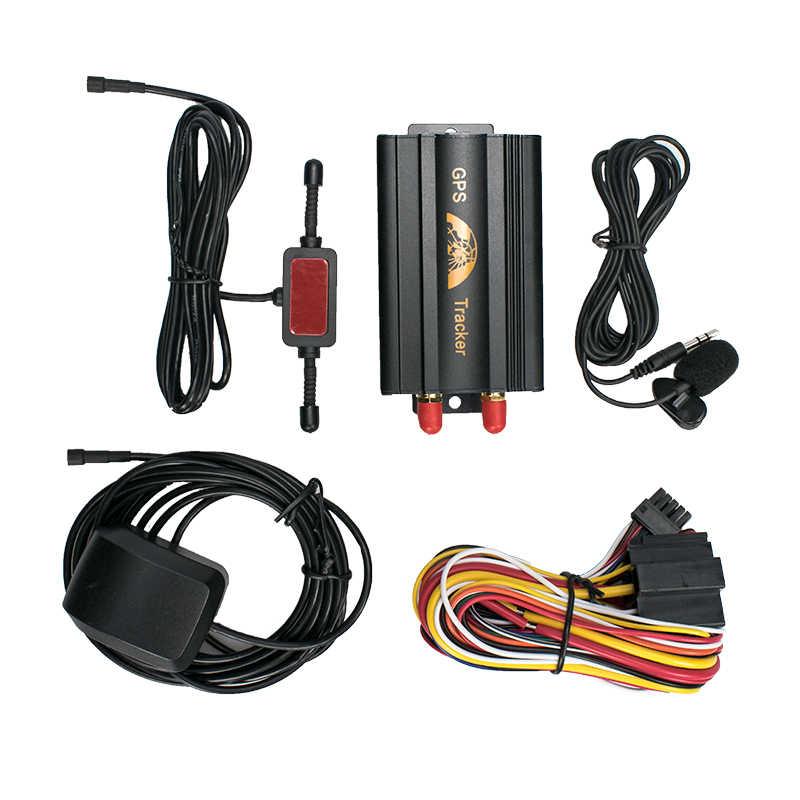 Автомобильный GPS-трекер Coban TK103A GSM/GPRS/GPS, система сигнализации в режиме реального времени, сигнализация превышения скорости