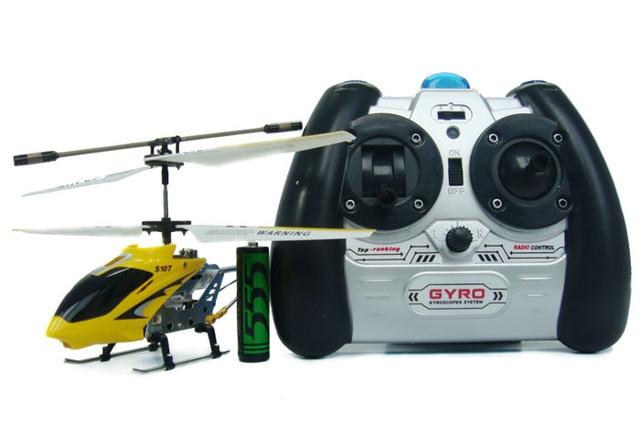 Syma Gratis verzending door EMS 18 STKS/PARTIJ Syma S107 S107G rc mini helicopter W/Gyro gemakkelijk fly