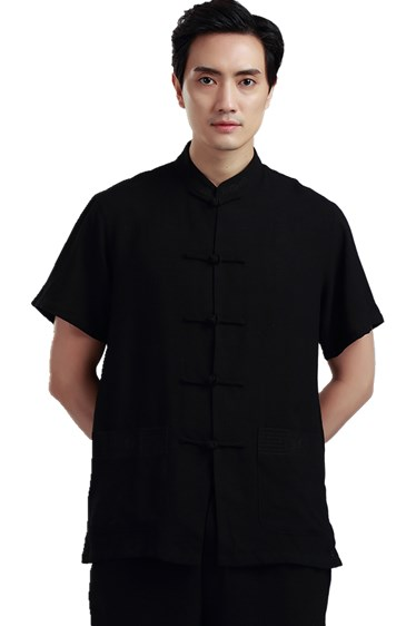Shanghai Story traditional chinese clothing for men tai chi shirt male  chinese ethnic clothing tangzhuang Top 1d1ce72ba6af