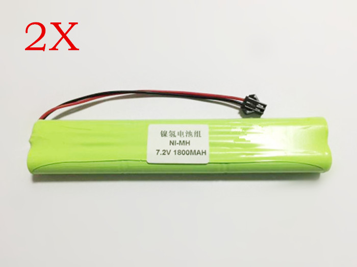 Saleaman2X 7.2V AA Ni-MH 1800mAh Battery Pack Rechargeable battery Circuit board medical equipment toys batteries For RC parts