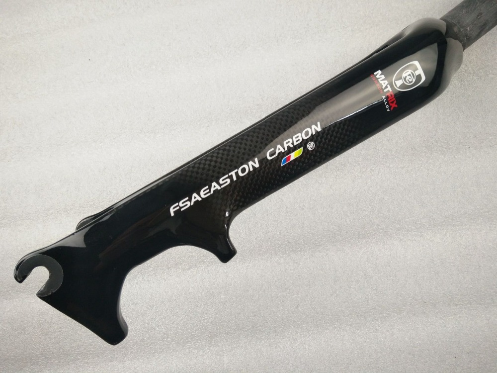 New FSAEASTON of carbon fiber BMX Bicycle fork 16/20 inch disc