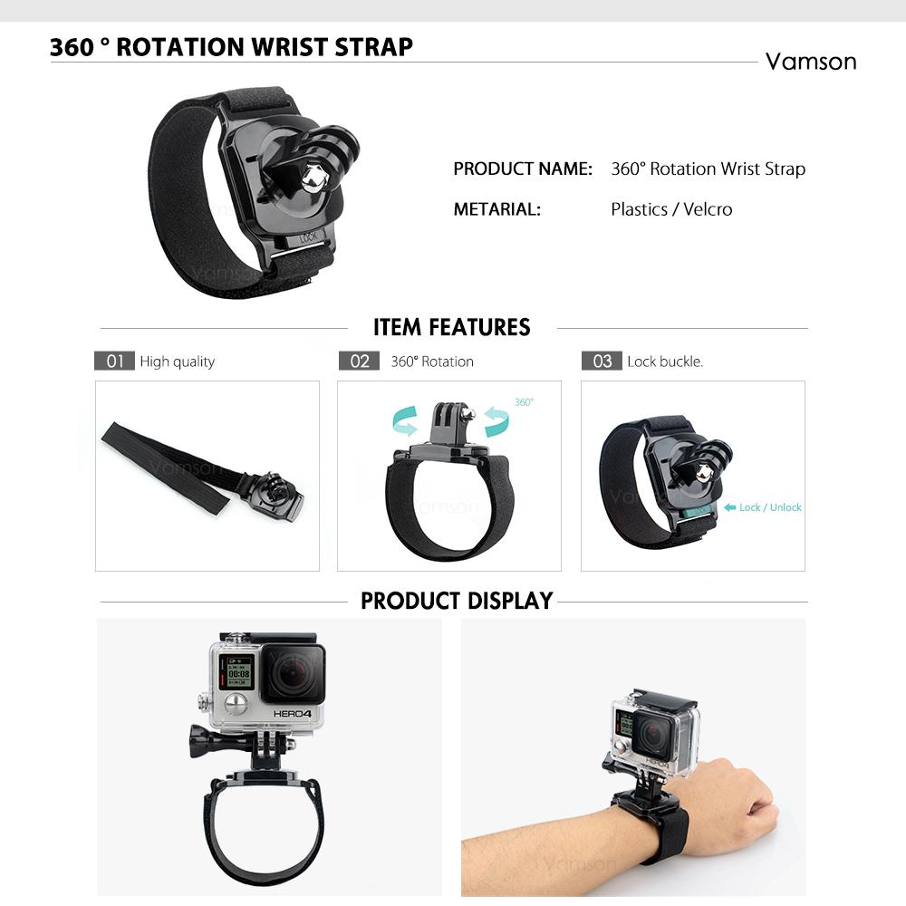 action camera Vamson Gopro Camera Accessories HTB1xf8MjH3nBKNjSZFMq6yUSFXab